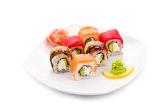 Yapona maki Royalty Free Stock Photos