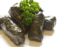 Yaprak Dolma, Stuffed Grape Leaves Stock Image