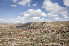 Yaprakhisar village in Cappadocia Royalty Free Stock Photography