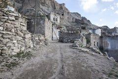 Yaprakhisar wioska w Cappadocia Zdjęcie Royalty Free