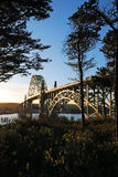 Yaquina Bay Royalty Free Stock Photo