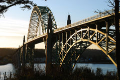 Yaquina Bay Royalty Free Stock Photography