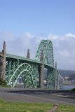 Yaquina Bay Bridge Royalty Free Stock Photos