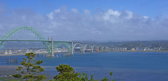 Yaquina Bay Bridge Stock Images