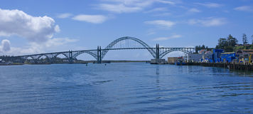 Yaquina Bay Bridge, Royalty Free Stock Photography