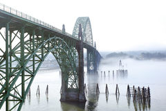 Yaquina Bay Bridge Royalty Free Stock Photography