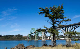 Yaquina Bay Bridge Stock Photography