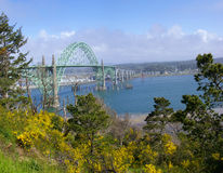 Yaquina Bay Bridge, Royalty Free Stock Image