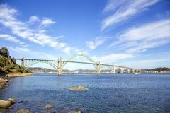 Yaquina Bay Bridge Stock Images