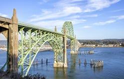 Yaquina Bay Bridge Royalty Free Stock Photography