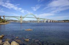 Yaquina Bay Bridge Royalty Free Stock Photo