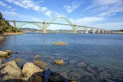 Yaquina Bay Bridge Royalty Free Stock Images