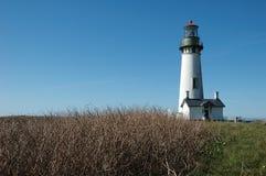 Yaquina Bay Lighthouse Royalty Free Stock Photography