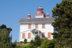 Yaquina Bay Lighthouse Royalty Free Stock Images