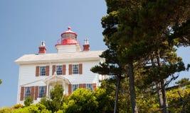 Yaquina Bay Lighthouse Stock Photo