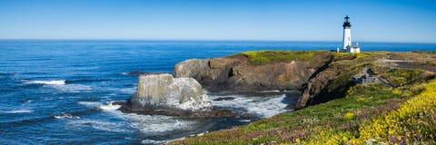 Yaquina głowy latarnia morska, Oregon, usa obrazy royalty free