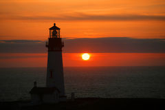 Yaquina Head Light Royalty Free Stock Images