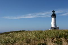 Yaquina Head Light house Stock Images