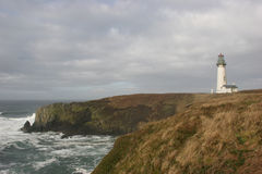 Yaquina Head Lighthouse Royalty Free Stock Photos