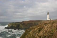 Yaquina Head Lighthouse Royalty Free Stock Photos