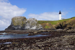 Yaquina Head Lighthouse Royalty Free Stock Photography