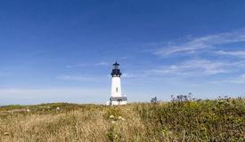 Yaquina Head Lighthouse, Oregon royalty free stock photography