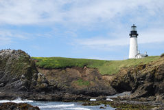 Yaquina Head Lighthouse Royalty Free Stock Photo