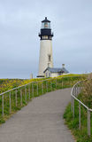 Yaquina Head lighthouse in Oregon Royalty Free Stock Photography