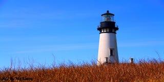 Yaquina Kierownicza latarnia morska, Oregon fotografia royalty free