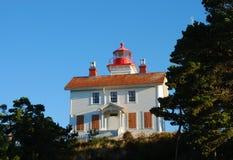 Yaquina Lighthouse Royalty Free Stock Image