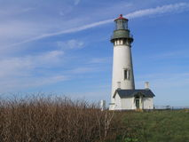 Yaquina Lighthouse. Yaquina head lighthouse in Oregon stock photography