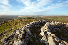 Yar Tor Cairn Stock Image