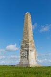 Yarborough Monument Isle of Wight on Culver Down. IOW landmark Stock Photo