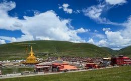 Yarchen Gar Monastery dans Garze tibétain photo stock