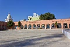 Yard of ashram Royalty Free Stock Image