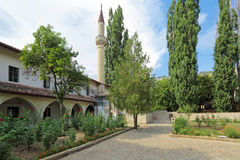 The yard is big Khan mosque Royalty Free Stock Photos