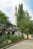 The yard is big Khan mosque Stock Images