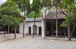 Yard of the Chinese museum Royalty Free Stock Photography