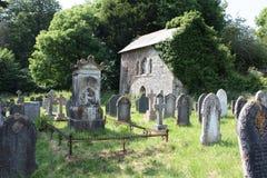 Yard d'église Image libre de droits