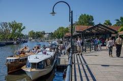 Yard de bateau Photographie stock libre de droits