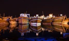 Yard de bateau dans Bandare Genave Photographie stock