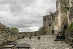 Yard de château Image stock