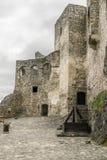 Yard de château Image libre de droits