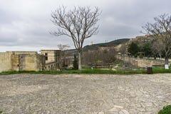 Yard de Naryn-kala photos libres de droits