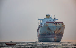 Yard de Shipbreaking Image stock