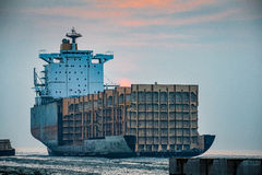 Yard de Shipbreaking Photo stock