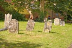 Yard de tombe d'église Image stock