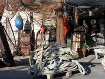 Yard des Fischers Stockbilder