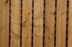 Yard fence texture. Coarse wooden texture of a yard fence Stock Images
