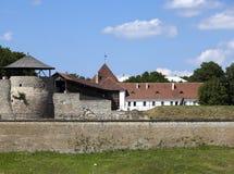 Yard of fortress. Narva. Estonia Royalty Free Stock Images